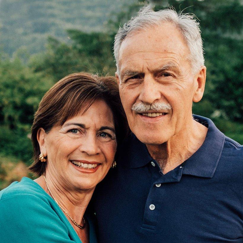 Elizabeth und Arthur Domig